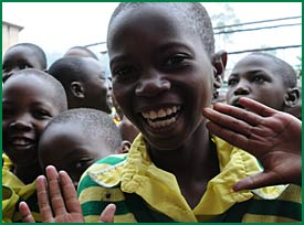 Happy Child Africa child